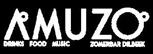 Logo (wit) Amuzo Zomerbar Dilbeek